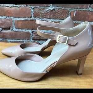 Rockport Total Motion nude patent heels